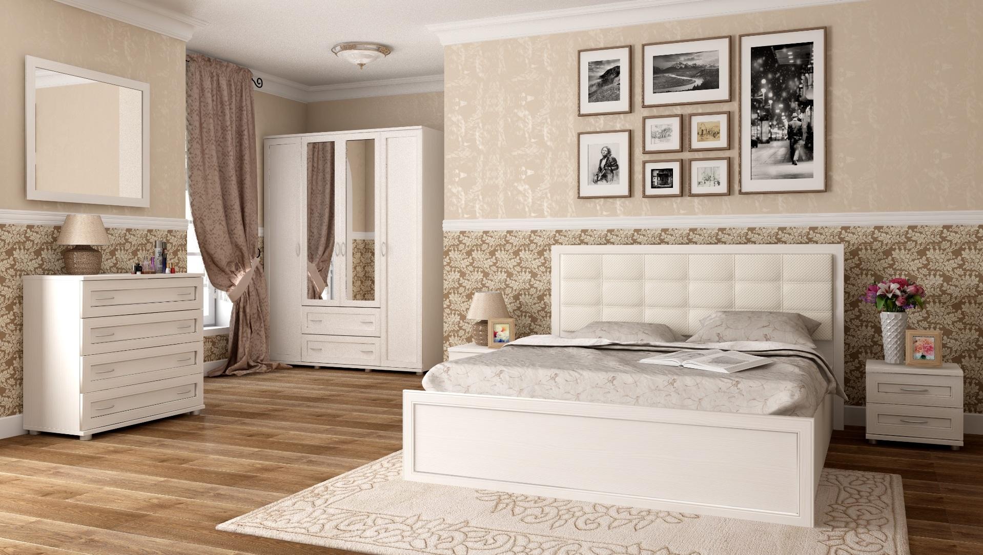 спальня ника люкс дуб бодега все модули интернет магазин мебели